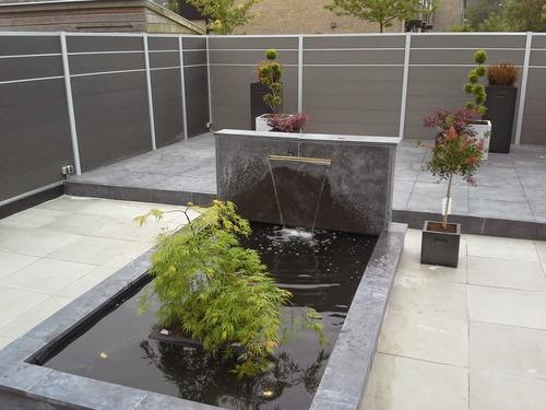 Moderne Strakke Tuin In Nieuwkoop De Gardenier Rob Struik